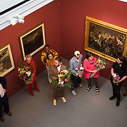 """18.05.2018.          <br /> More than 500 people attended the flagship event of the inaugural Unwrap LSAD Fashion Festival in Limerick.<br /> <br /> .<br /> <br /> The Limerick School of Art & Design, LIT, Fashion Design Graduate Exhibition and launch of the """"The Fashion Film"""" at Limerick City Gallery of Art, in partnership with EVA International, attracted hundreds of people from the world of fashion. <br /> <br /> A total of 27 fashion graduates presented their designs alongside the specially commissioned film by fashion stylist and creative director Kieran Kilgallon and videographer Albert Hooi. Picture: Alan Place"""