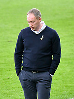 Football - 2020 / 2021 Sky Bet Championship - Swansea City vs Cardiff City - Liberty Stadium<br /> <br /> Swansea Manager Steve Cooper  looks down after Cardiff score in the South Wales local derby match<br /> <br /> COLORSPORT/WINSTON BYNORTH