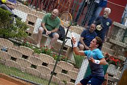 June 19, 2018 - L'Aquila, Italy - Roberto Carballes Baena during match between Roberto Carballes Baena (ESP) and Giovanni Fonio (ITA) during day 4 at the Internazionali di Tennis Città dell'Aquila (ATP Challenger L'Aquila) in L'Aquila, Italy, on June 19, 2018. (Credit Image: © Manuel Romano/NurPhoto via ZUMA Press)