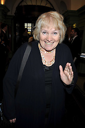 LIBBY PURVES at the 2009 Oldie of The Year Award lunch held at Simpson's in The Strand, London on 24th February 2009.