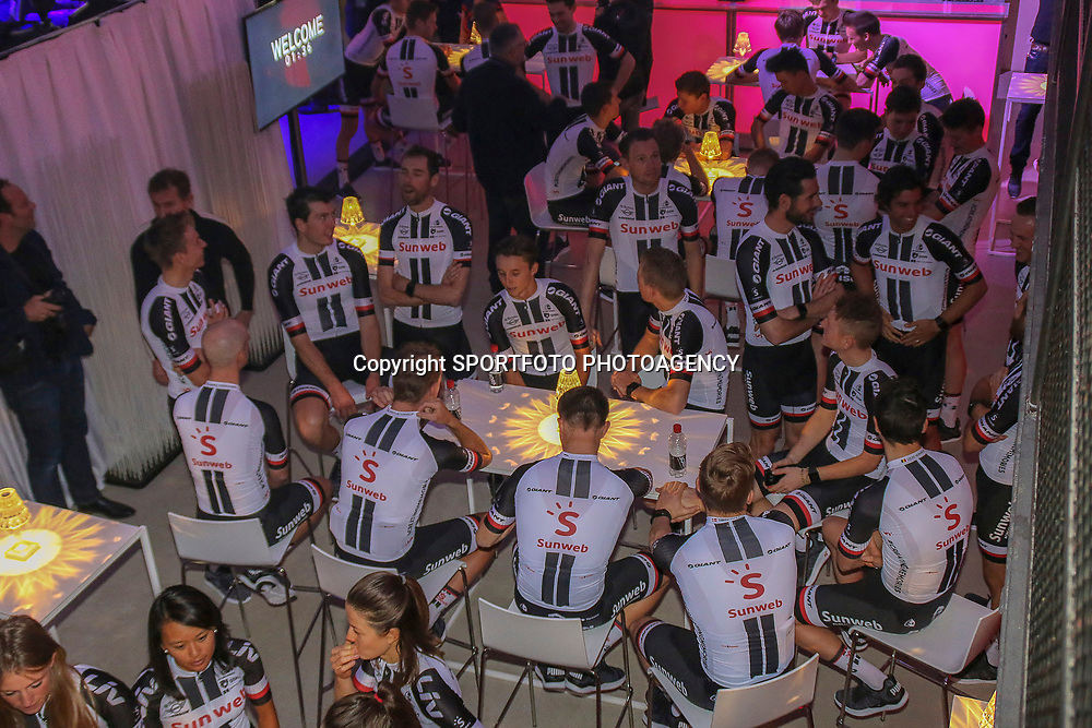04-01-2018: Wielrennen: Presentatie Team Sunweb: Berlijn<br />In Berlin Team Sunweb had a press presentation