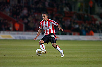 Photo: Alan Crowhurst.<br />Southampton v Milton Keynes Dons. The FA Cup.<br />07/01/2006. <br />Theo Walcott of Saints'.