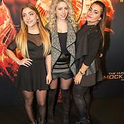 NLD/Amsterdam/20151116 - Filmpremiere The Hunger Games: Mokingjay-part 2, O'3gene