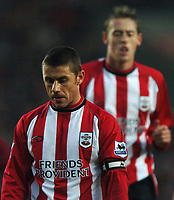 Photo: Javier Garcia/Back Page Images<br />Southampton v Middlesboro, FA Barclays Premiership, St Mary's Stadium 11/12/04<br />Frustration for Southampton scorers Kevin Phillips, foreground, and Peter Crouch
