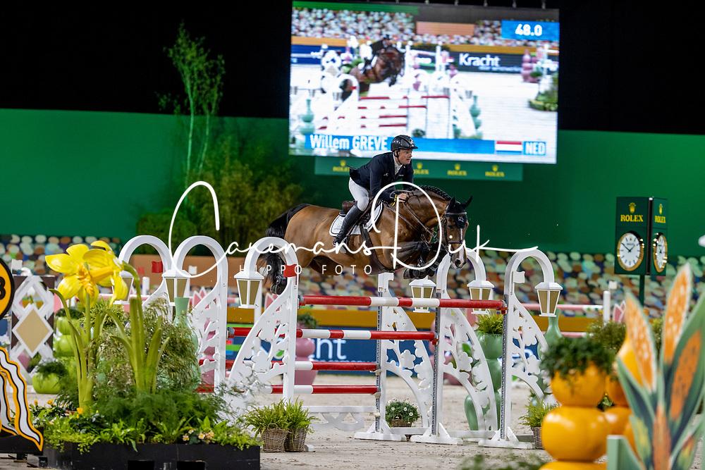 Greve Willem, NED, Carambole<br /> The Dutch Masters - 's Hertogenbosch 2021<br /> Rolex Grand Slam of Show Jumping<br /> © Hippo Foto - Dirk Caremans<br /> 25/04/2021