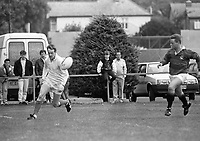 Dublin North V Dublin South in the Dublin Millennium Challenge in aid of the charity GOAL, in Castle Avenue, 02/10/1988 (Part of the Independent Newspapers Ireland/NLI Collection).