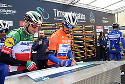 March 15, 2019 - Pomarance, Pisa, Italia - Foto LaPresse/Gian Mattia D'Alberto.15/03/2019 Pomarance (Italia) .Sport Ciclismo.Tirreno-Adriatico 2019 - edizione 54 - da Pomarance.a Foligno  (226 km) .Nella foto:durante la gara...Photo LaPresse/Gian Mattia D'Alberto.March 15, 2018 Pomarance (Italy).Sport Cycling.Tirreno-Adriatico 2019 - edition 54 - Pomarance to.Foligno (140 miglia) .In the pic:during the race. (Credit Image: © Gian Mattia D'Alberto/Lapresse via ZUMA Press)
