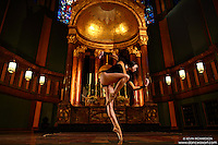 Dance As Art: The New York City Photography Project Sacred Spaces Series: St Paul The Apostle Church with ballerina Sabrina Imamura