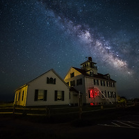 US Coast Guard Station at Coast Guard Beach along the Cape Cod National Seashore in Eastham, Massachusetts.<br /> <br /> United States Coast Guard Station Milky Way photography images are available as museum quality photography prints, canvas prints, acrylic prints, wood prints or metal prints. Fine art prints may be framed and matted to the individual liking and decorating needs:<br /> <br /> https://juergen-roth.pixels.com/featured/united-states-coast-guard-station-and-milky-way-juergen-roth.html<br /> <br /> Good light and happy photo making!<br /> <br /> My best,<br /> <br /> Juergen
