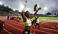 Friidrett , 13. juni 2013 , Diamond League , Bislett Games<br /> Athletics , June 13th 2013 , <br /> Tiffany Porter , GBR  100 m h winner