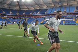 June 22, 2018 - EUM20180622DEP04.JPG.ROSTOV, Rusia, SoccerFutbol-Mundial.- 22 de junio de 2018. Sesión de entrenamiento de la Selección Mexicana de futbol en el Estadio Rostov Arena, previo al partido que tendrán ante su similar de Corea del Sur este sábado, como parte de las actividades de fase de grupos del Mundial de Rusia. Foto: Agencia EL UNIVERSALLuis CortésMAR. (Credit Image: © El Universal via ZUMA Wire)