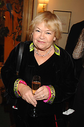 SANDY CHALMERS at a tribute lunch for Elaine Paige hosted by the Lady Taverners at The Dorchester, Park Lane, London on 13th November 2007.<br />