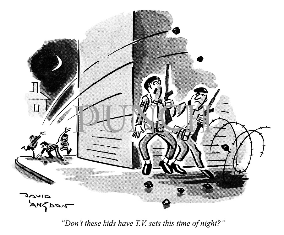 """""""Don't these kids have T.V. sets this time of night?"""""""