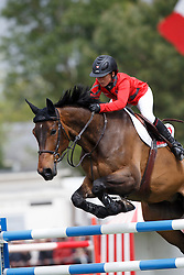 Etter-Pellegrin Marie, (SUI), Admirable<br /> Furusiyya FEI Nations Cup presented by Longines<br /> Longines Jumping International de La Baule 2015<br /> © Hippo Foto - Dirk Caremans<br /> 15/05/15