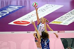 ELENA PIETRINI <br /> IMOCO VOLLEY CONEGLIANO - SAVINO DEL BENE SCANDICCIPALLAVOLO CAMPIONATO ITALIANO VOLLEY SERIE A1-F 2020-2021SEMIFINALI PLAYOFFVILLORBA (TV) 07-04-2021FOTO FILIPPO RUBIN / LVF