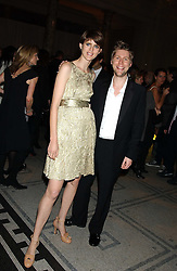 Model STELLA TENNANT and designer CHRISTOPHER BAILEY at the 2005 British Fashion Awards were held at The V&A museum, London on 10th November 2005.<br /><br />NON EXCLUSIVE - WORLD RIGHTS