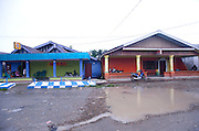 Kilo Sepuluh is 10 kilometers outside the town of Timka (hence the name) in West Papua. Kadun Jaya, as Kilo Sepuluh is officially known, houses 380 prostitutes..In 2000 the village did not exist. Before that time the prostitutes could be found in Tamika itself. The Freeport mining company wanted to make prostitution less accessible, because many of their mostly male employees, were spending time at the brothels in Timika and not returning to work. So  the prostituses from Timika were brought to Kilo Sepuluh, and the local government pays local brothel owners to manage the village.