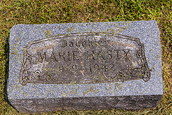 Stouts Grove Cemetery<br /> <br /> Marie Hasty 1919-1942