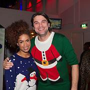 NLD/Hilversum/20151207- Sky Radio's Christmas Tree for Charity, Sharon Doorson en Xander de Buisonje