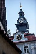 Das Jüdische Rathaus in Prag.