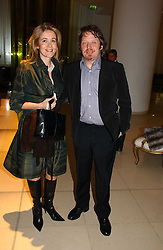 CHARLEY BOORMAN and OLLY BOORMAN at a Burns Night dinner in aid of CLIC Sargent and Children's Hospice Association Scotland held at St.Martin's Lane Hotel, St.Martin's Lane, London on 25th January 2007.<br />