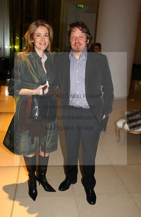 CHARLEY BOORMAN and OLLY BOORMAN at a Burns Night dinner in aid of CLIC Sargent and Children's Hospice Association Scotland held at St.Martin's Lane Hotel, St.Martin's Lane, London on 25th January 2007.<br /><br />NON EXCLUSIVE - WORLD RIGHTS