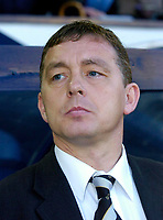 Photo: Leigh Quinnell.<br /> West Bromwich Albion v Derby County. Coca Cola Championship. 02/12/2006. Derby manager Billy Davis looks on.