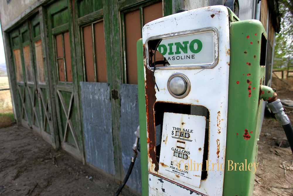 An old gas pump at a long closed gas station in central Utah shows a time when gas prices were under a dollar per gallon. Experts say we will never see gas under $3.00 again.