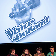 NLD/Hilversum/20120821 - Perspresentatie 3de seizoen The Voice of Holland 2012 / 2013,
