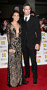 Pride of Britain Awards 2014 Red Carpet Arrivals at The Grosvenor House Hotel, London<br /> <br /> Photo Shows: Jessica Taylor and Kevin Pietersen<br /> ©Exclusivepix