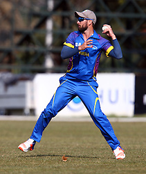 Pietermaritzburg, SOUTH AFRICA 4 September 2016 - Jan Frylinck of Namibia during the African Cup T20 game between KwaZulu-Natal Inland and Namibia at the City Oval, Pietermaritzburg, South Africa. Photo by: Steve Haag/ Real Time Images