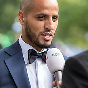 NLD/Hilversum//20170821 - Voetbalgala 2017, Karim El Ahmadi