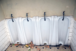 Public urinal, southern France, 2021
