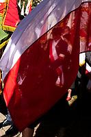 Bialystok, 06.09.2019. 19. Miedzynarodowy Marsz Pamieci Zeslancow Sybiru poswiecony pamieci o tragicznych losach obywateli polskich zeslanych do Zwiazku Radzieckiego w latach 40. i 50. XX wieku. Uczestnicy - zeslancy , potomkowie i rodziny zeslancow , uczniowe i mieszkancy miasta przemaszerowali od Pomnika Katynskiego pod Grob Nieznanego Sybiraka przy kosciele sw Ducha N/z sybiracy fot Michal Kosc / AGENCJA WSCHOD