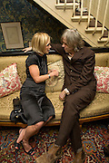 MARIELLA FROSTRUP AND SIR BOB GELDOF , Pre Bafta dinner hosted by Charles Finch and Chanel. Mark's Club. Charles St. London. 9 February 2008.  *** Local Caption *** -DO NOT ARCHIVE-© Copyright Photograph by Dafydd Jones. 248 Clapham Rd. London SW9 0PZ. Tel 0207 820 0771. www.dafjones.com.