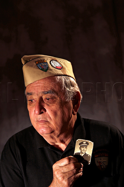 Esteban Bovo piloted a B-26 bomber during the 1961 Bay of Pigs invasion in Cuba. He is a member of the Bay of Pigs Veterans Association, Brigade 2506.