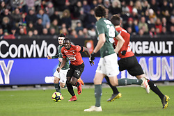 February 10, 2019 - Rennes, France - 27 HAMARI TRAORE  (Credit Image: © Panoramic via ZUMA Press)