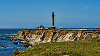 Point Arena lighthouse. Image taken with a Nikon D3 camera and 80-400 mm VR lens (ISO 200, 80 mm, f/11, 1/640 sec).