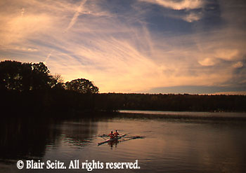 Gifford Pinchot State Park, York Co., PA, <br /> Couple Rowing