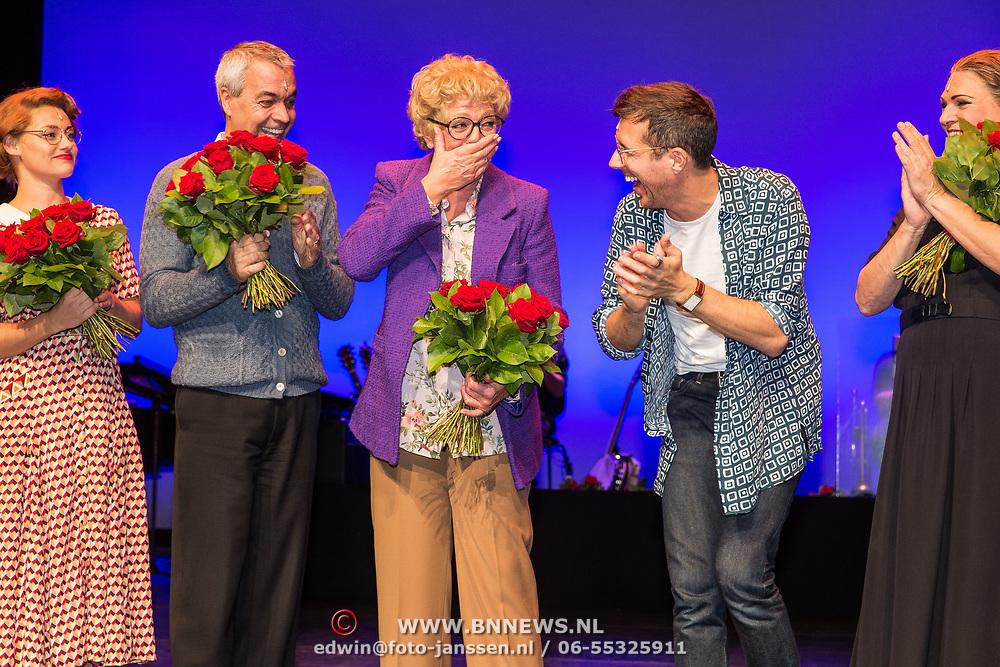NLD/Amsterdamt/20180930 - Annie MG Schmidt viert eerste jubileum, Simone Kleinsma en William Spaaij
