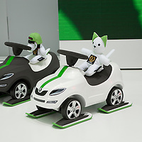 Skoda Scale Models with toys, Geneva Motor Show 2011