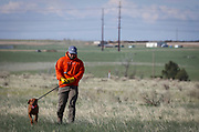 SHOT 5/9/20 8:38:25 AM - Various pointing breeds compete in the Vizsla Club of Colorado Licensed Hunt Test Premium at the Rocky Mountain Sporting Dog Club Grounds in Keenesburg, Co. (Photo by Marc Piscotty / © 2020)