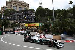 May 26, 2019 - Monte Carlo, Monaco - xa9; Photo4 / LaPresse.26/05/2019 Monte Carlo, Monaco.Sport .Grand Prix Formula One Monaco 2019.In the pic: Lewis Hamilton (GBR) Mercedes AMG F1 W10 and Valtteri Bottas (FIN) Mercedes AMG F1 W10 (Credit Image: © Photo4/Lapresse via ZUMA Press)