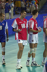 23-09-2000 AUS: Olympic Games Volleybal Joegoslavie - Argentinie, Sydney<br /> Igor Vusurovic