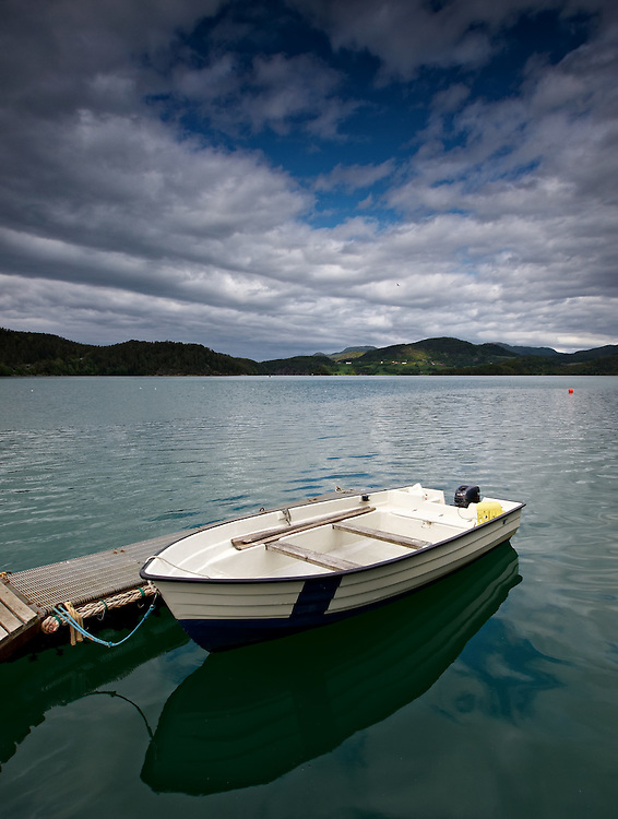 Norway - Boat in Karihavetfjord