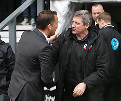 Derby County Manager Darren Wassall (L) and Bolton Wanderers Manager Jimmy Phillips before the match - Mandatory by-line: Jack Phillips/JMP - 09/04/2016 - FOOTBALL - iPro Stadium - Derby, England - Derby County v Bolton Wanderers - Sky Bet Championship