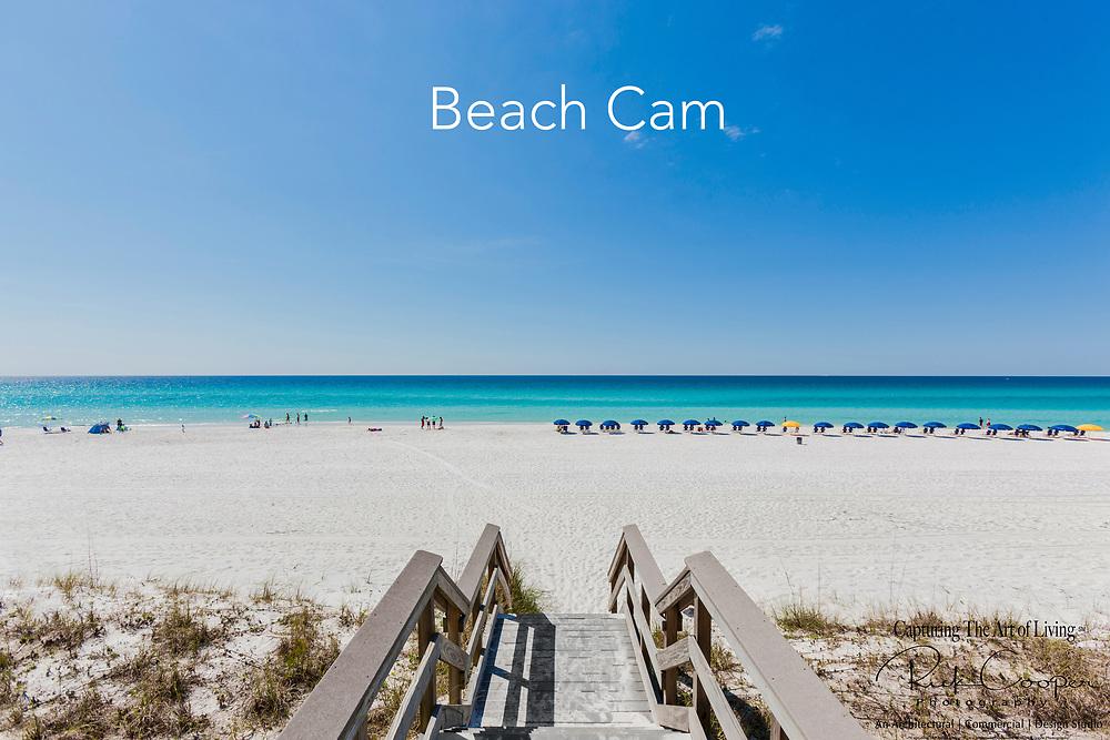 Beach Scene In Destin, Florida