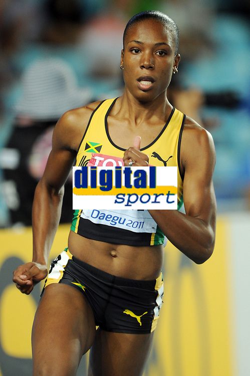 ATHLETICS - IAAF WORLD CHAMPIONSHIPS 2011 - DAEGU (KOR) - DAY 1 - 27/08/2011 - PHOTO : STEPHANE KEMPINAIRE / KMSP / DPPI - <br /> 400 M - WOMEN - HEAT - ROSEMARIE WHYTE (JAM)