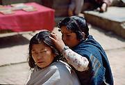 Women in Nepal.