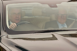 Michael Heseltine leaving the Houses of parliament following Prime Minister's Questions. <br /> <br /> Richard Hancox | EEm 22052019